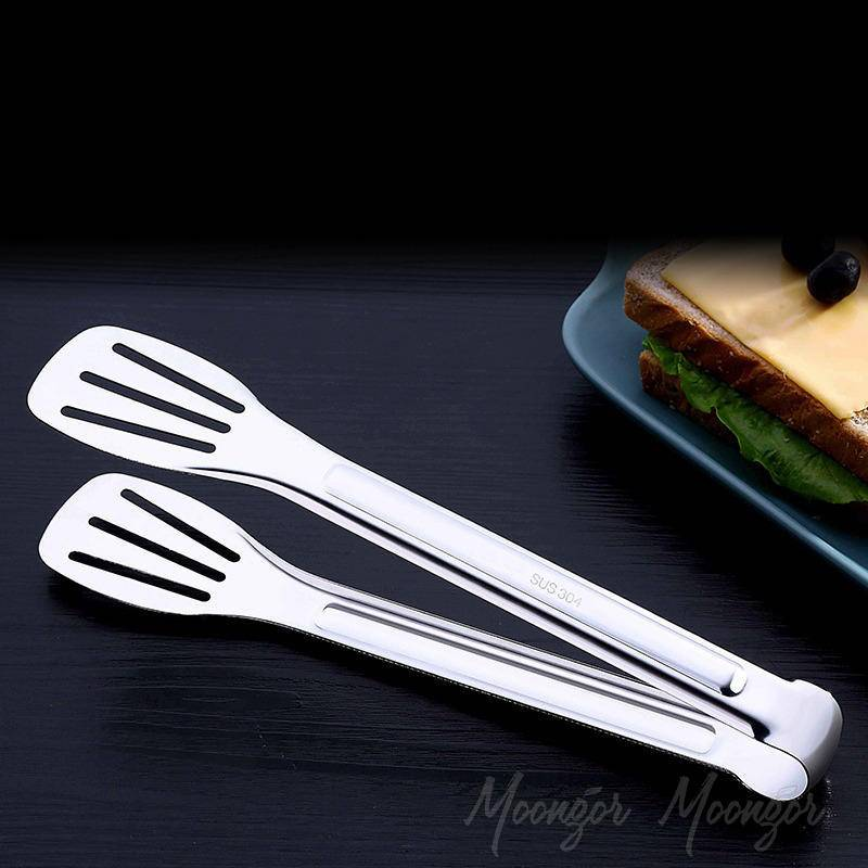 Stainless Steel Handle Silicone Food Clip