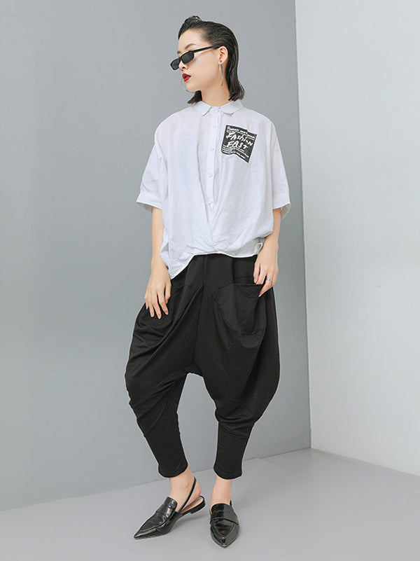 Loose Harem Pants