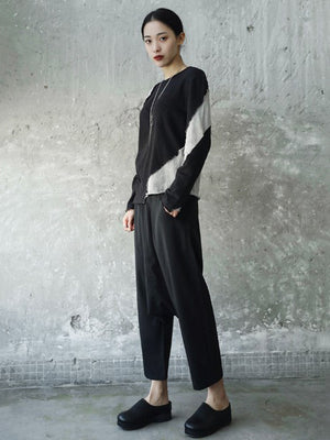 Light Split-joint Harem Pants