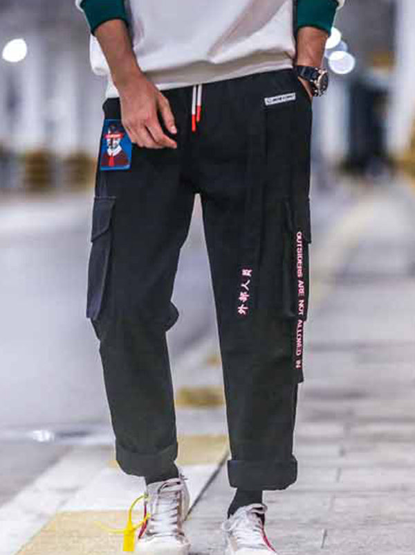 Loose Men Hip-hop Cargo pants