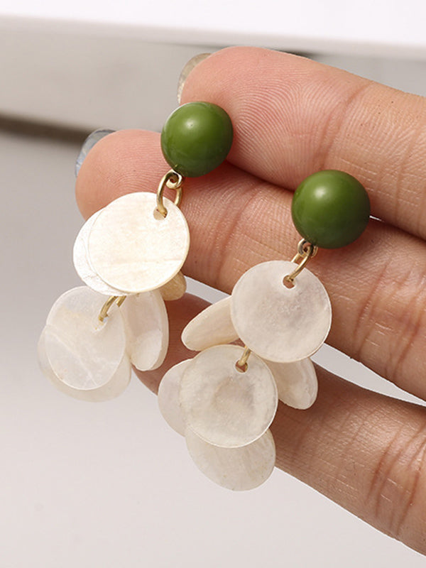 Ins Elegant Shell Earrings