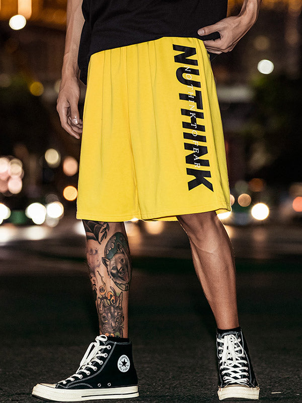 Loose Men Hip-hop Short Pants