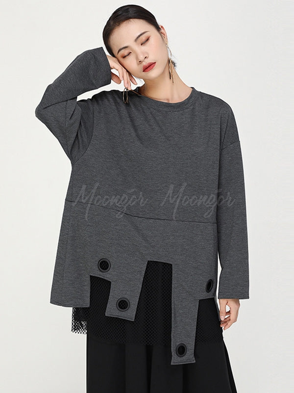 Loose Cropped Original Tops
