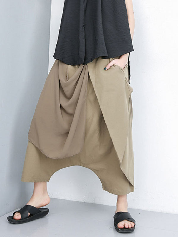 Chiffon Harem False Pants