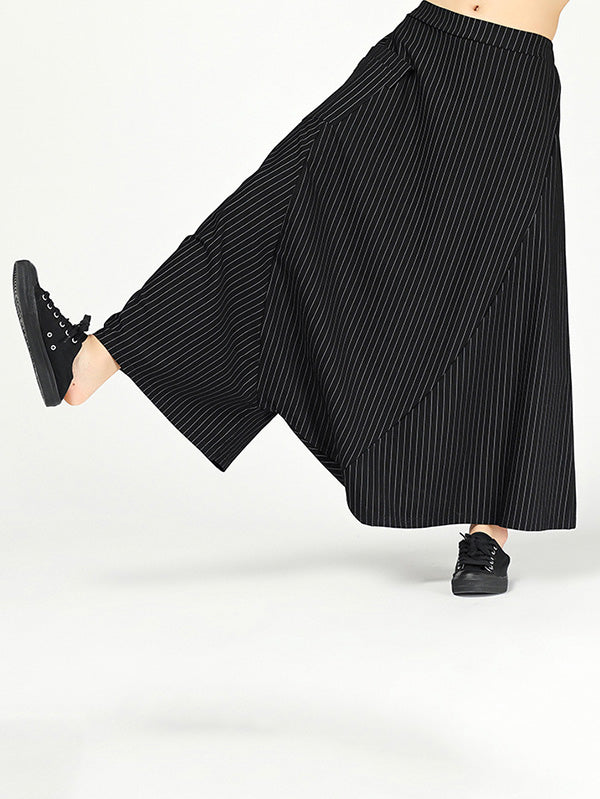 Super Loose Stripe Harem Pants