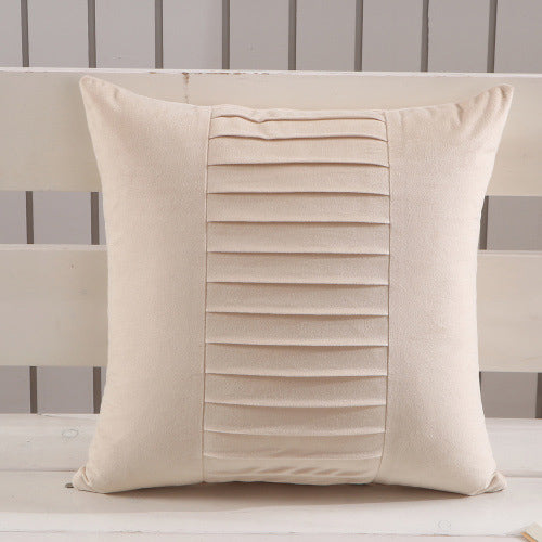 Solid Square Pillow Case