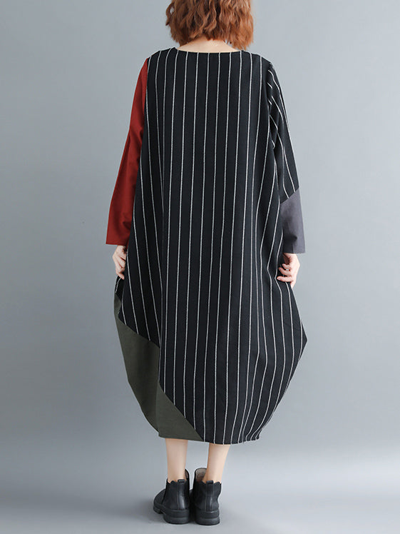 Super Casual Split-joint Long Dress