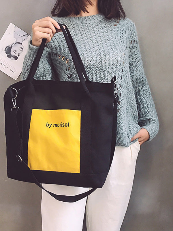 Cool Big Single-shoulder Bag
