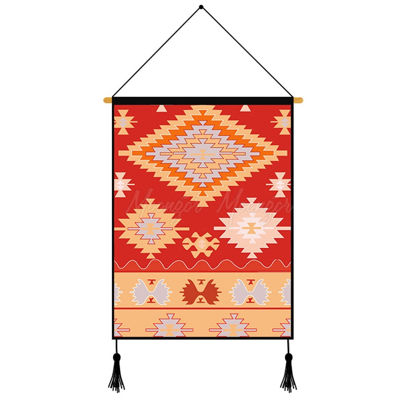 Creative Geometry Printed Wall Hanging Decoration