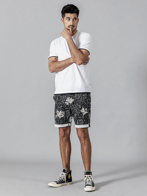 Summer Printed Men Shorts