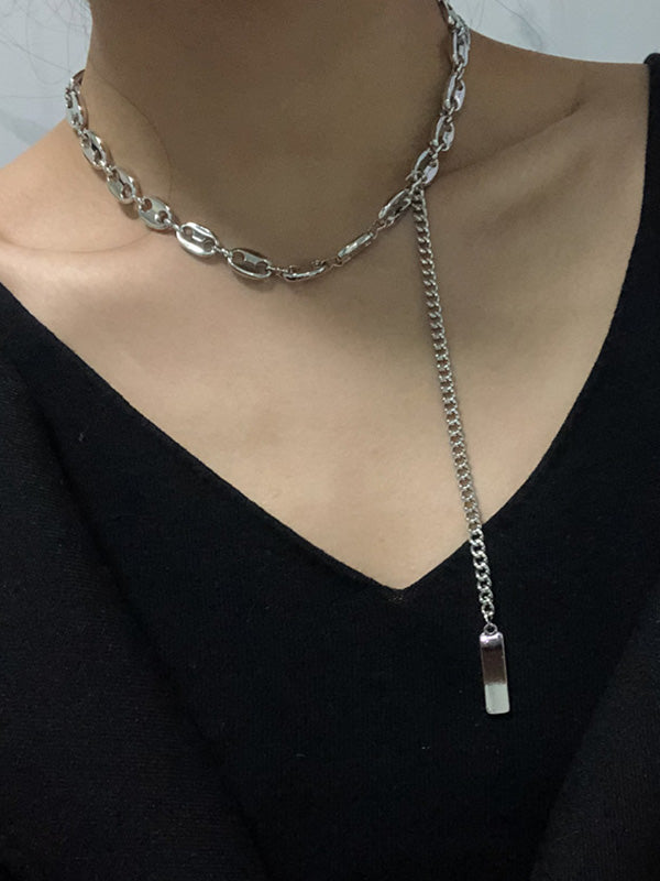 Long Chain Chic Necklace