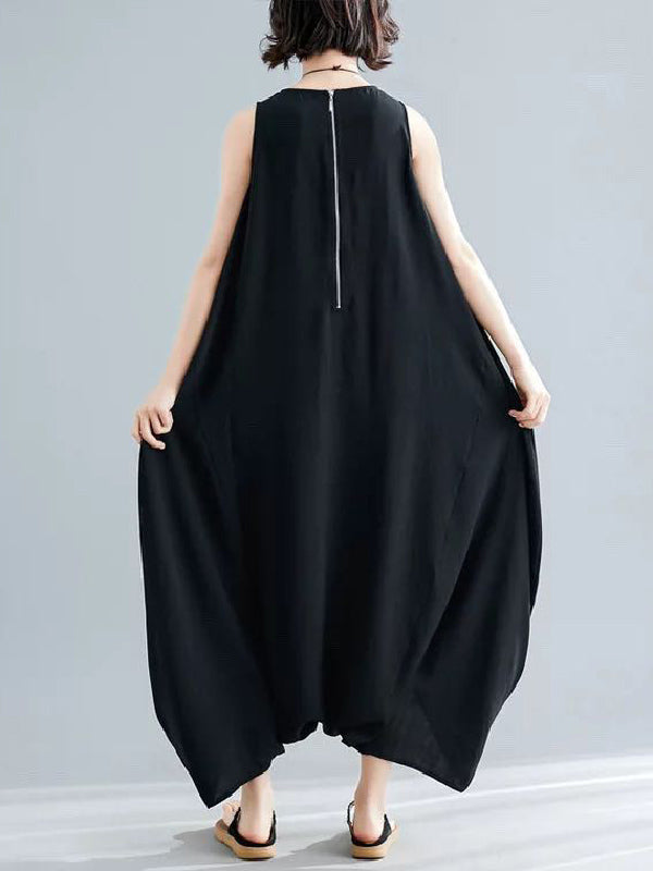 Super Loose Harem Jumpsuit