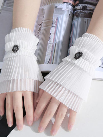Slender Solid Color Sleevelet Accessories