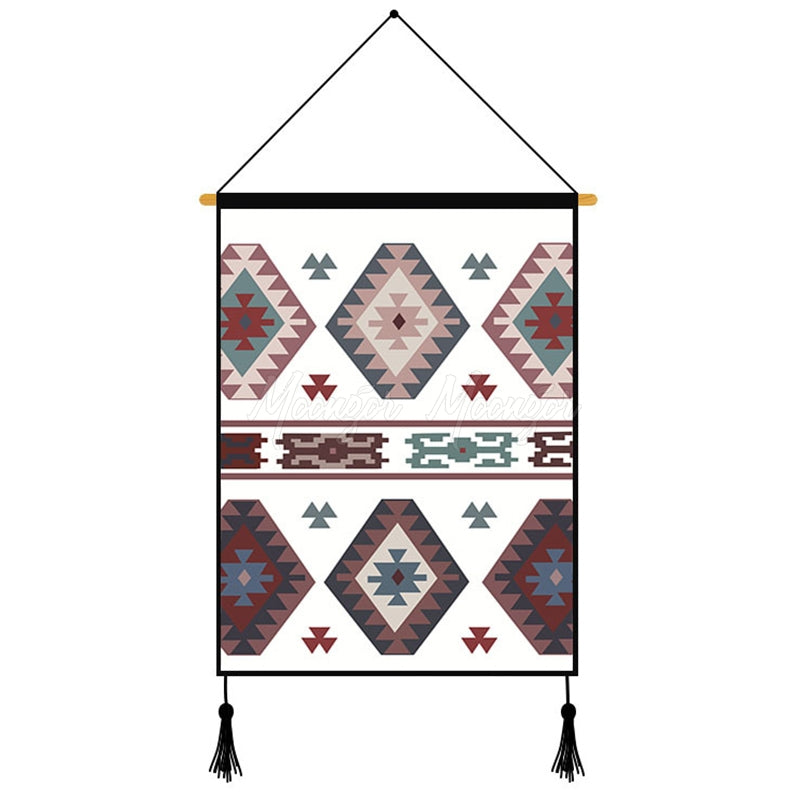 Creative Geometric Printed Wall Hanging Decoration