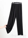 Comfortable Loose Solid Color Casual Wide-Leg Pants