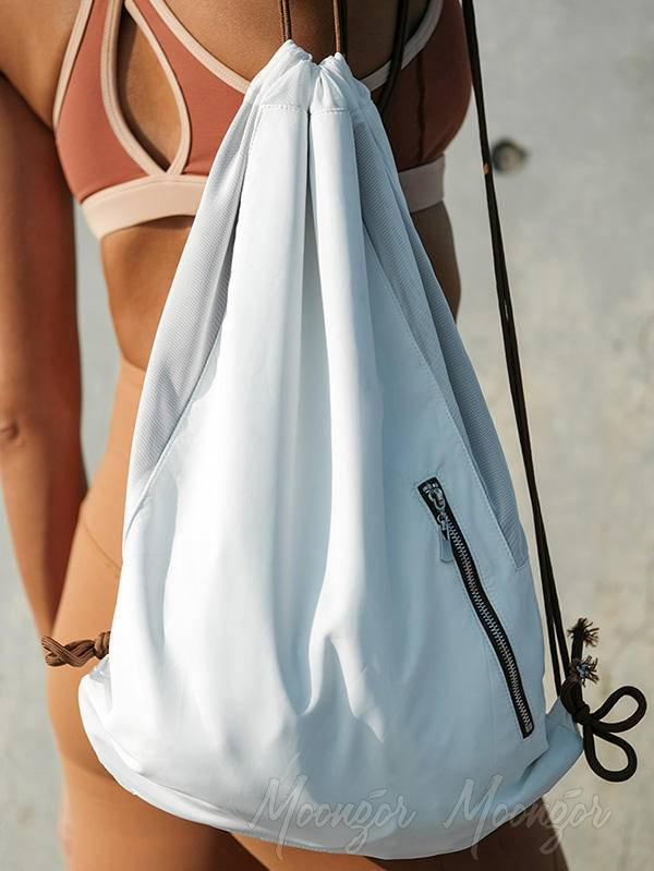 Casual Outdoor Lightweight Drawstring Pocket Backpack