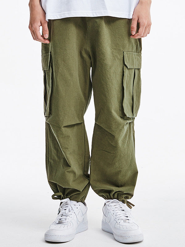 Summer Light Loose Tooling Men Pants