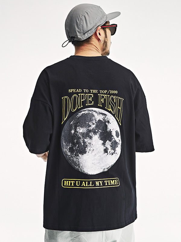 Original Printed Moon Men T-Shirt