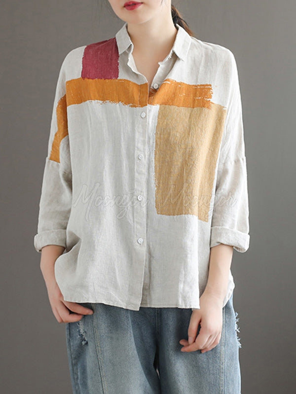 Casual Split-joint Leisure Shirt