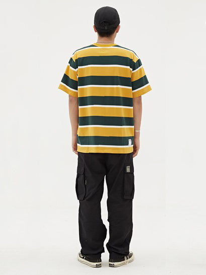 New Loose Oversize Striped T-Shirt