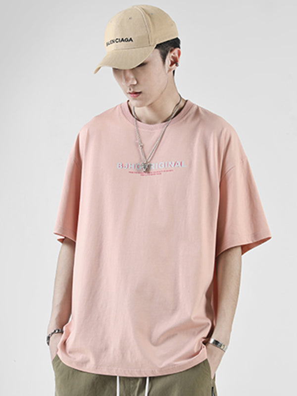 Casual Simple Pure Color T-shirt