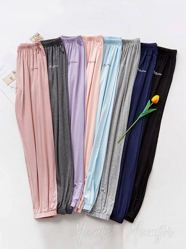 Comfortable Solid Pajama Pants