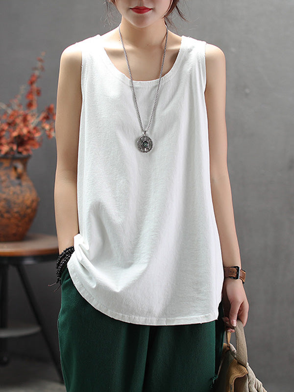 Comfortable Pure Color Camisole