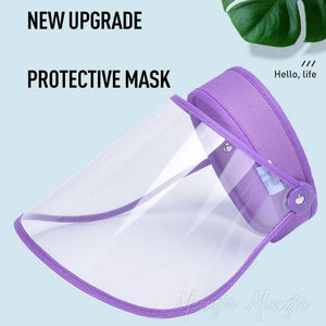 Adjustable Transparent Empty Head Protective Mask