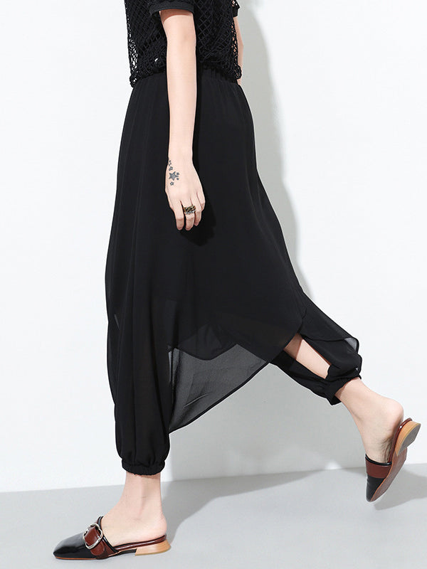 Fashion Designed Chiffon Harem Pants