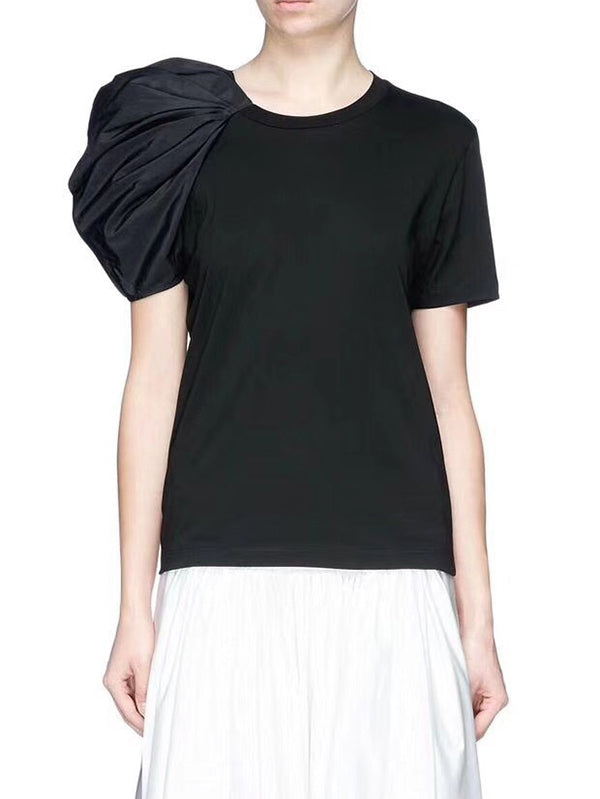 Elegant Sleeve Designed T-shirt