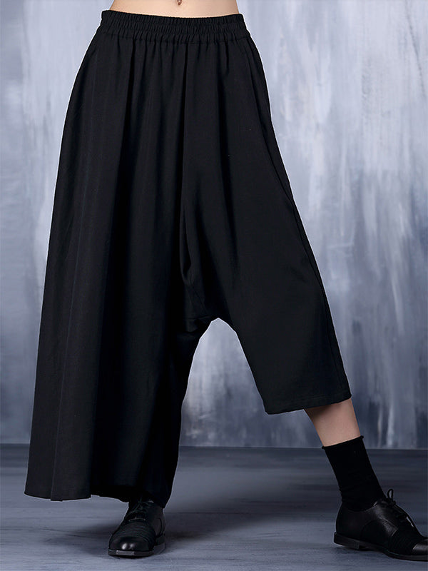 Loose Original Cropped Pants