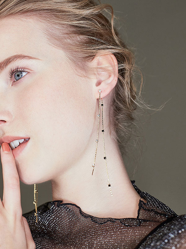 Urban Tasseled Eardrop Earrings