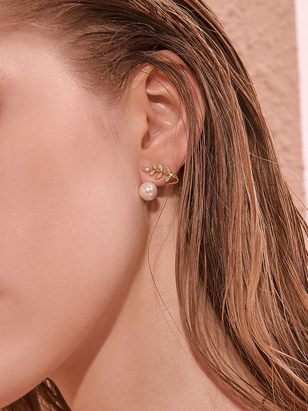 Original Leaf Earring