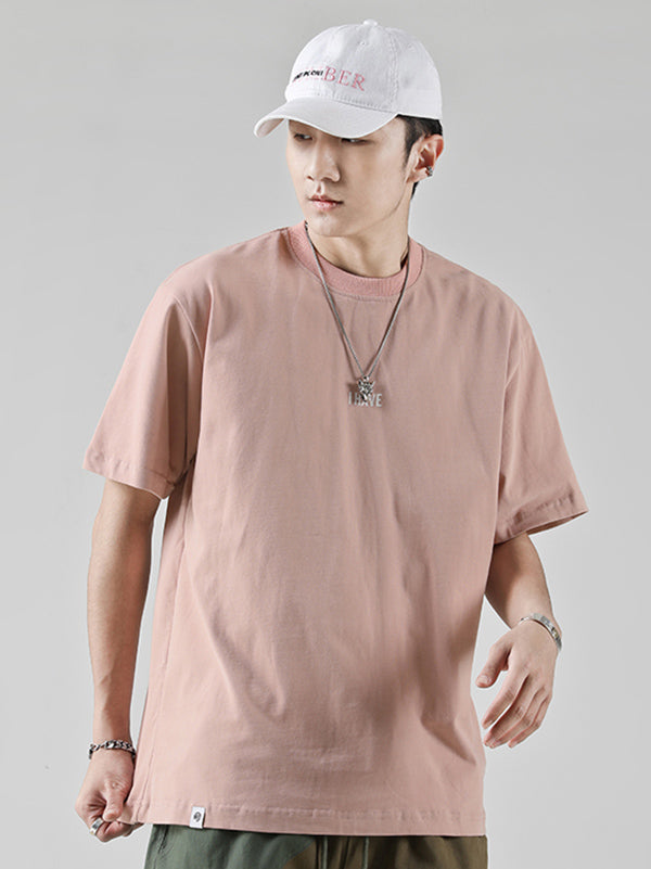 Casual Cotton Simple T-shirt