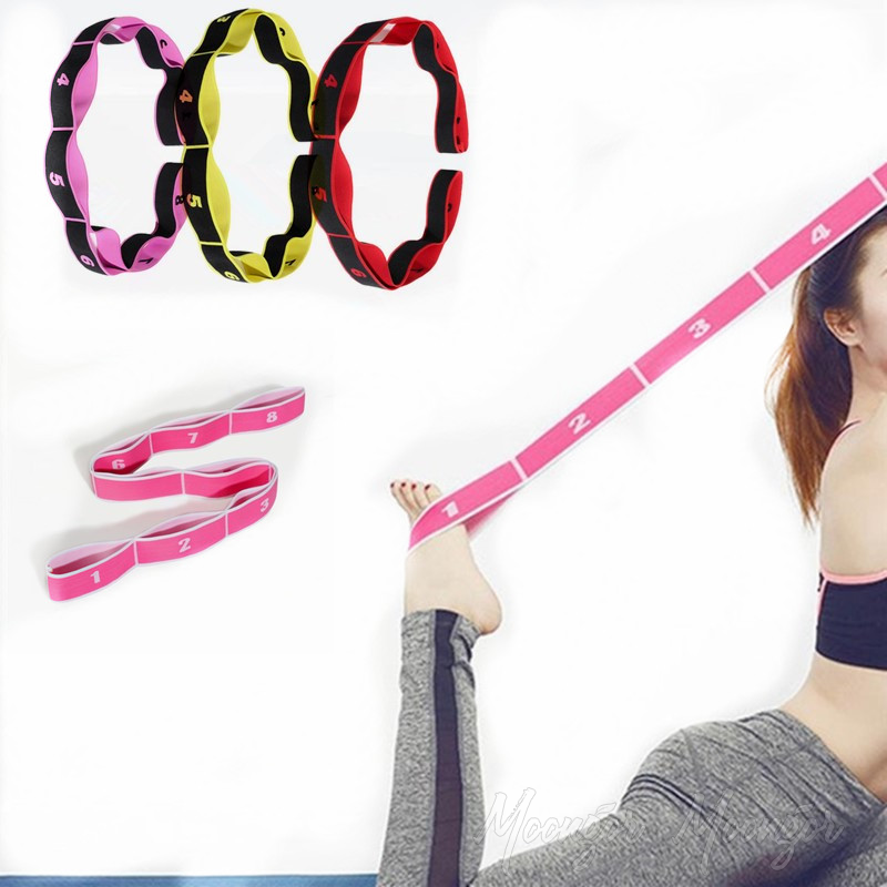 Latin Training Yoga Stretch Resistance Bands
