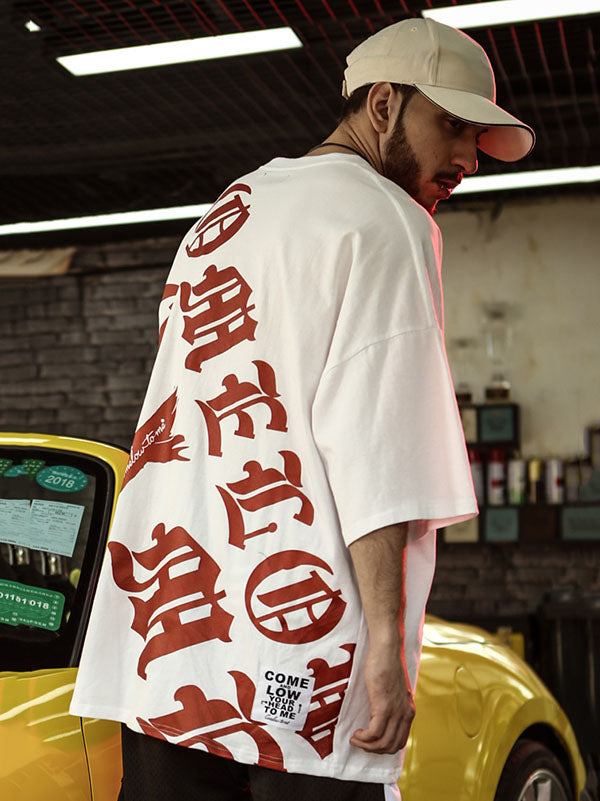 Loose Hip-hop Street T-shirt