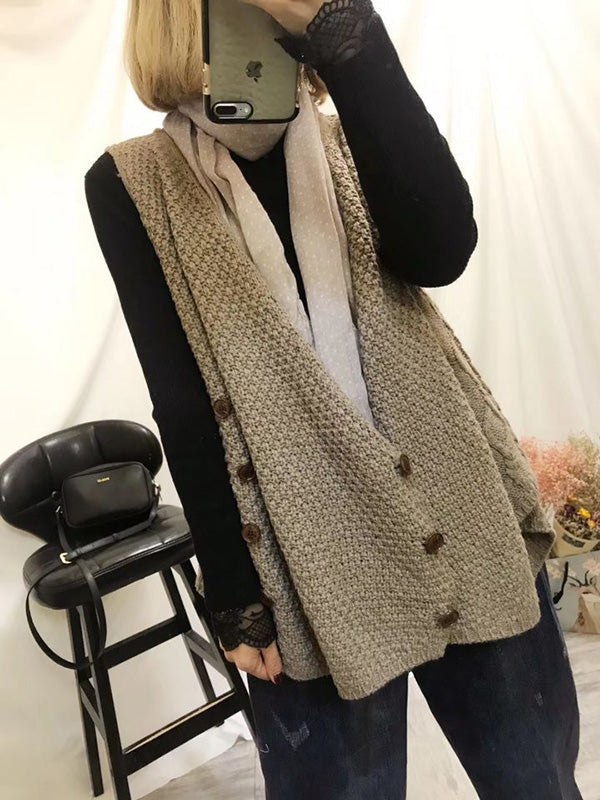 Comfortable Knitting Vest