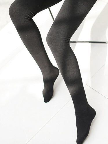 Warm Slim Black Leggings