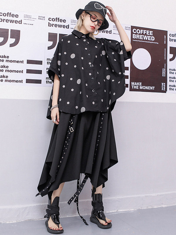 Cool Loose Irregular Skirt
