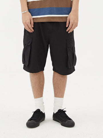 Men Sports Casual Solid Shorts