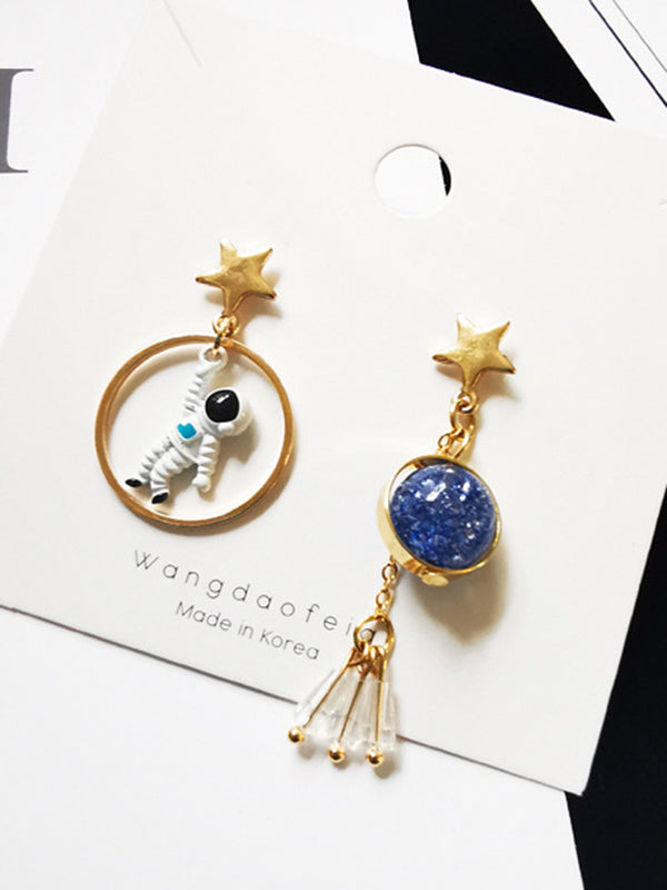 Spaceman Dissymmetry Earrings