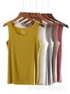Comfortable Solid Color Sleeveless Vest