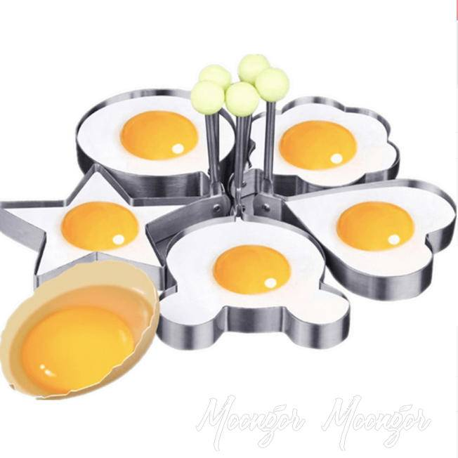 Stainless Steel Omelette Fried Egg Ring Mold Baking Molds