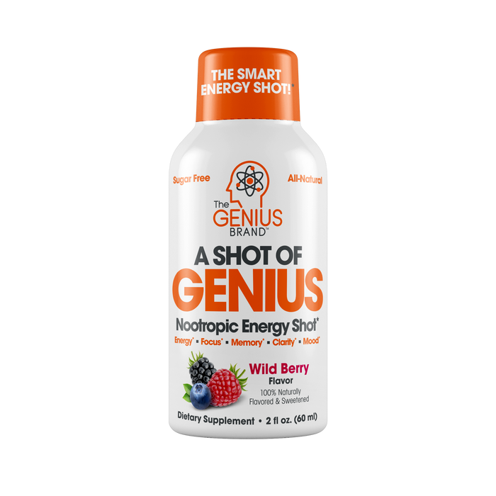 Shot of Genius 6 Pack