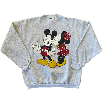 Vintage 90s Disney Mickey & Mini Mouse Sweater