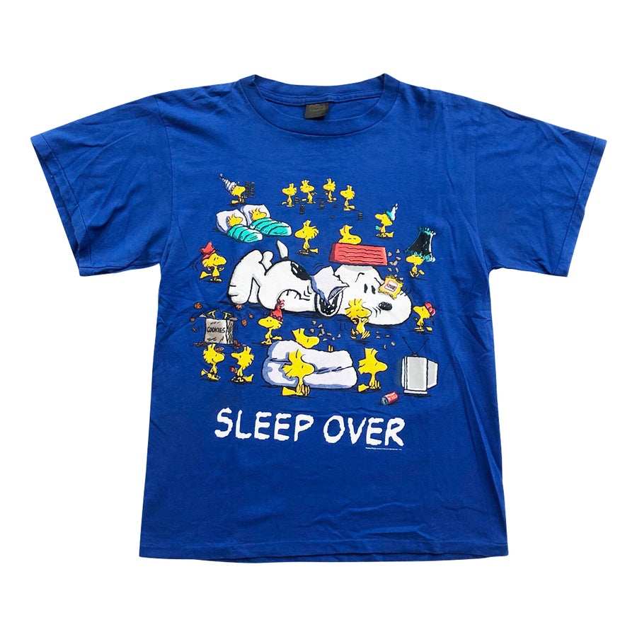 Vintage 90s Peanuts 'Sleep Over' T-Shirt
