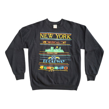 Vintage 90s New York Musical Sweater