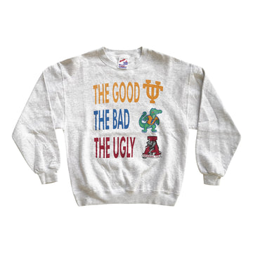 Vintage 90s Alabama Crimson Tide 'The Good, The Bad The Ugly' Sweater