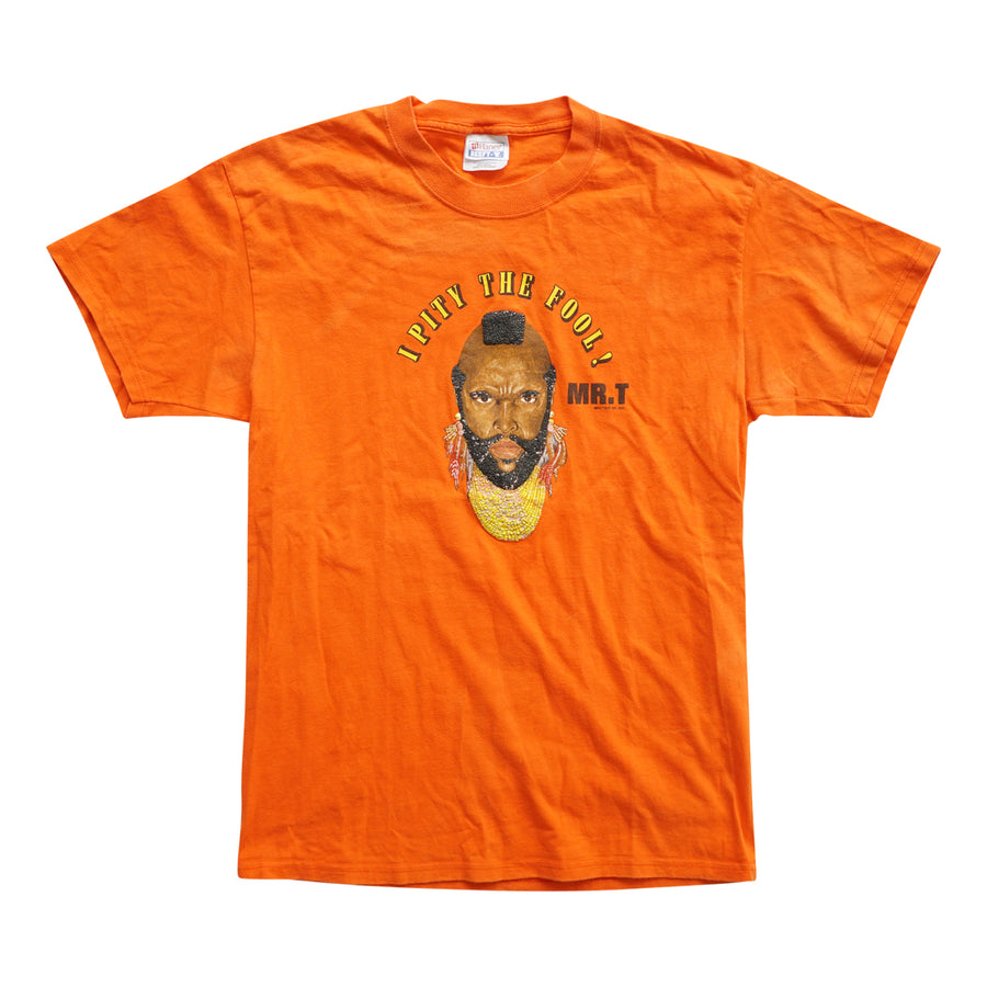 Vintage 2000 Mr. T 'I Pity The Fool!' T-Shirt