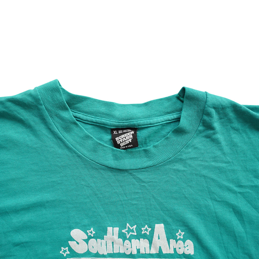 Vintage 90s Southern Area Superstars T-Shirt